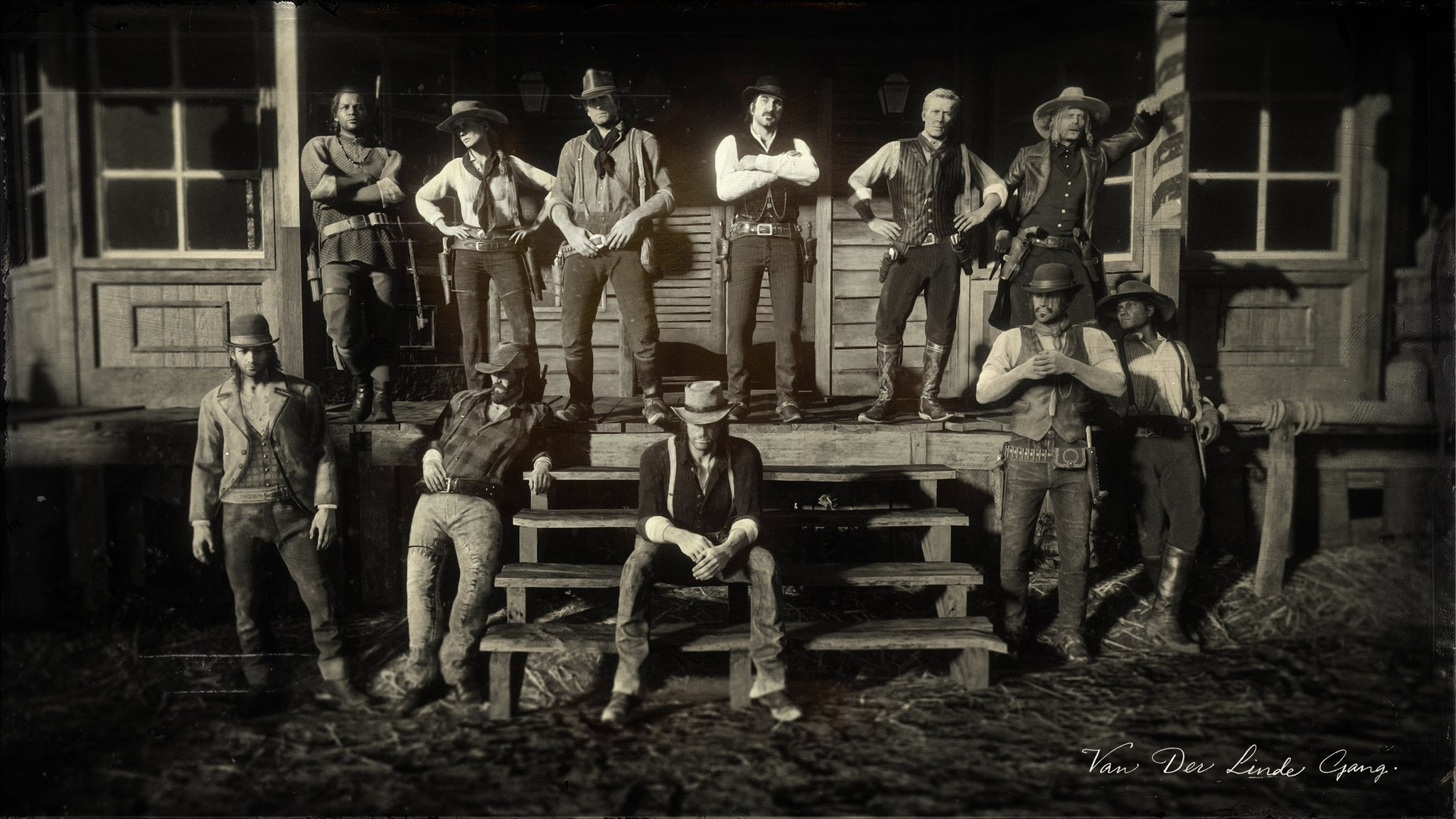 Gang Dutch Van der Linde Red Dead Redemption II