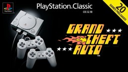 GTA PlayStation Classic Line Up