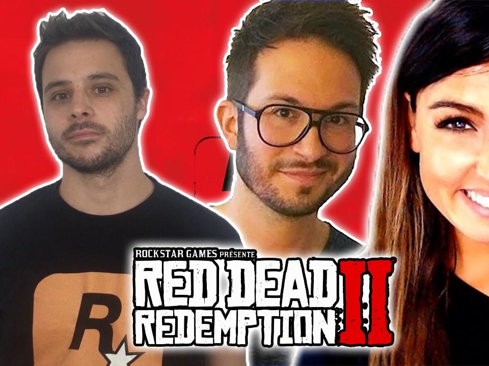 Carole Quintaine, Julien Chièze, Rockstar Mag Red Dead Redemption II Gameplay