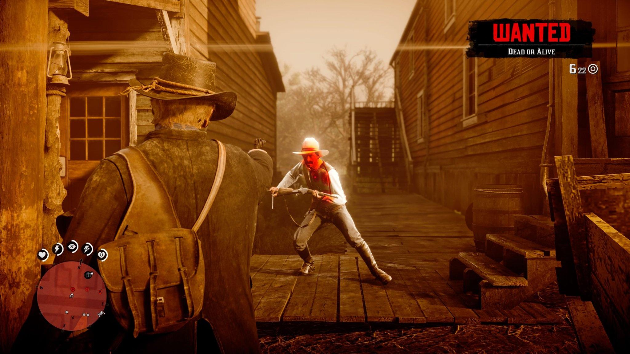 Red Dead Redemption II Dead Eye