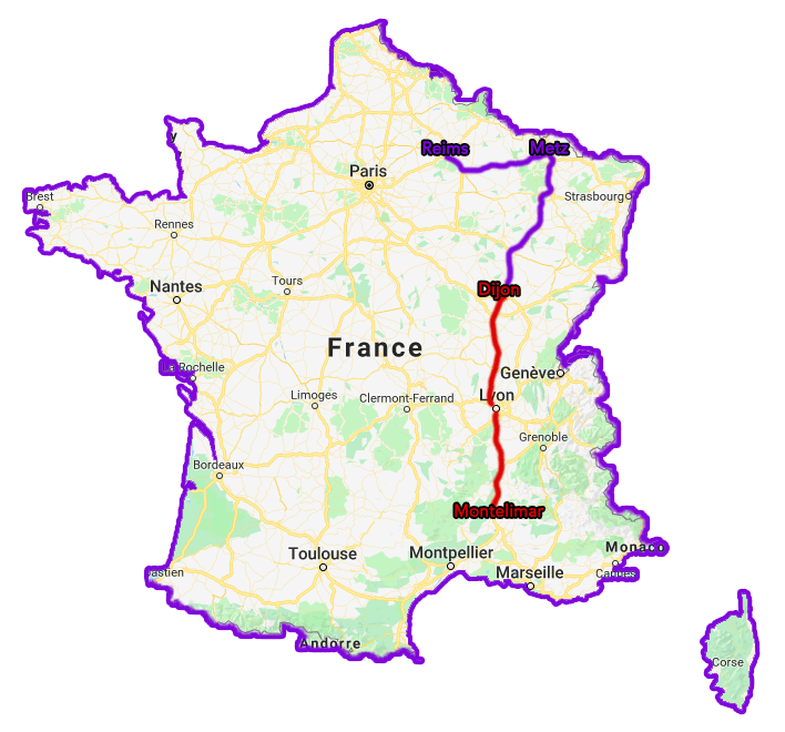 Trajet Tour de France TousGamers 02