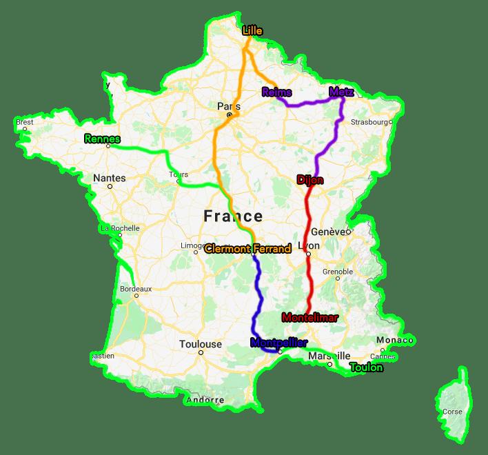 Trajet Tour de France TousGamers 05