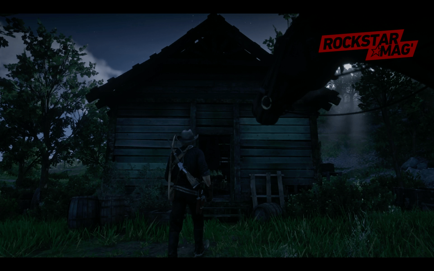Mystere Red Dead Redemption II - Cabane 01