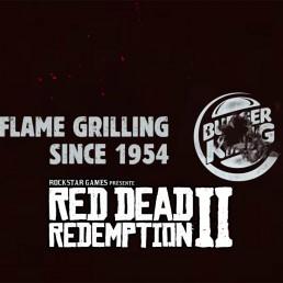 Partenariat Burger King et Red Dead Redemption II