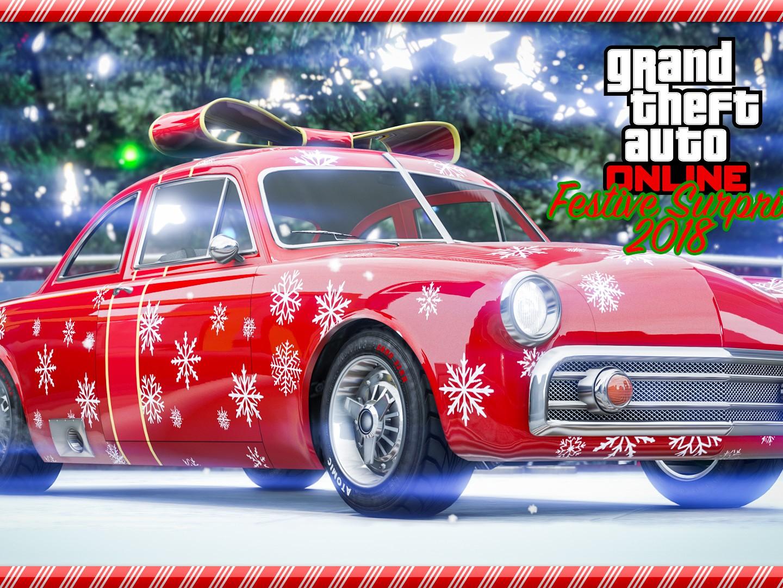 GTA Online Surprise Festive 2018