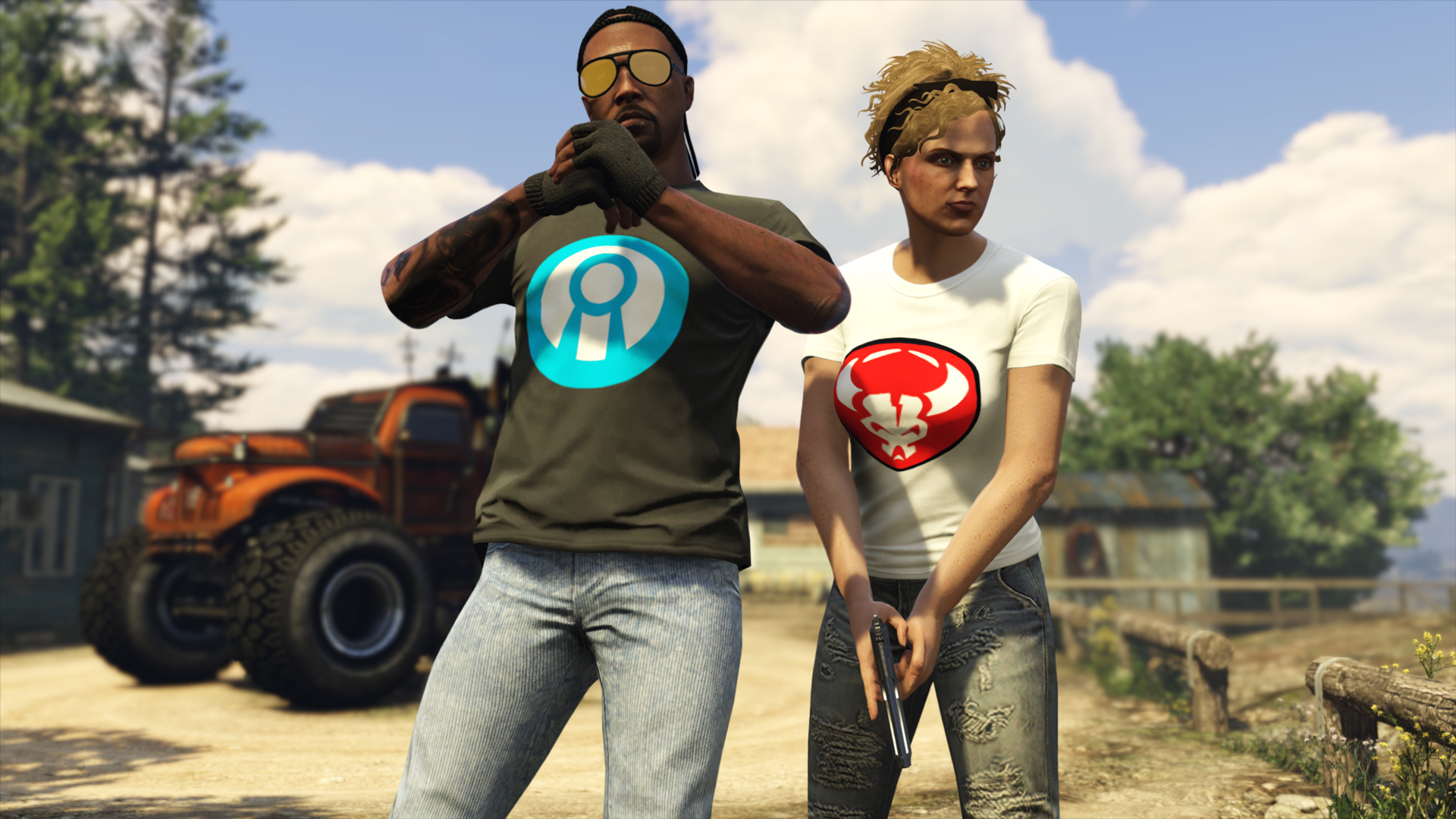 Nouveau T-Shirt GTA Online Arena War