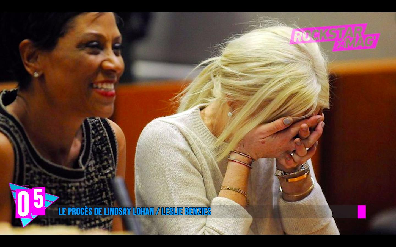 Top 5 Procès Lindsay Lohan et Leslie Benzies