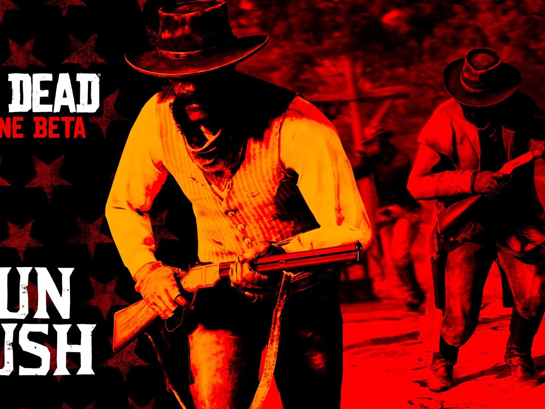 Red Dead Online Mise à Jour Gun Rush