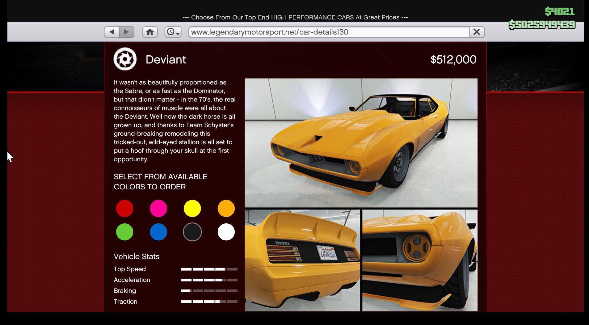 The Deviant GTA Online