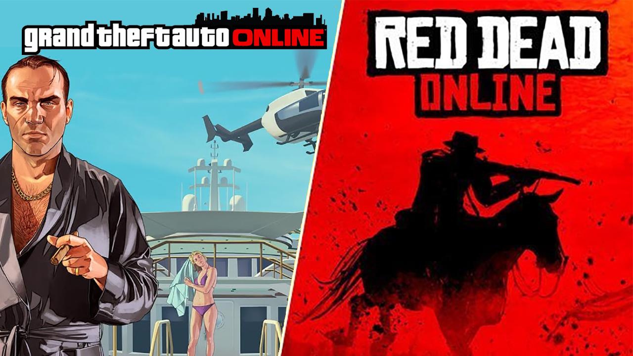 Red dead Online cinq fois moins rentable que GTA Online