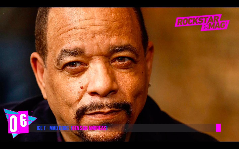 Top 06 Célébrités Ice T