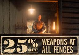 Bannière illustrant la semaine de promotion des recéleurs de Red Dead Online Beta