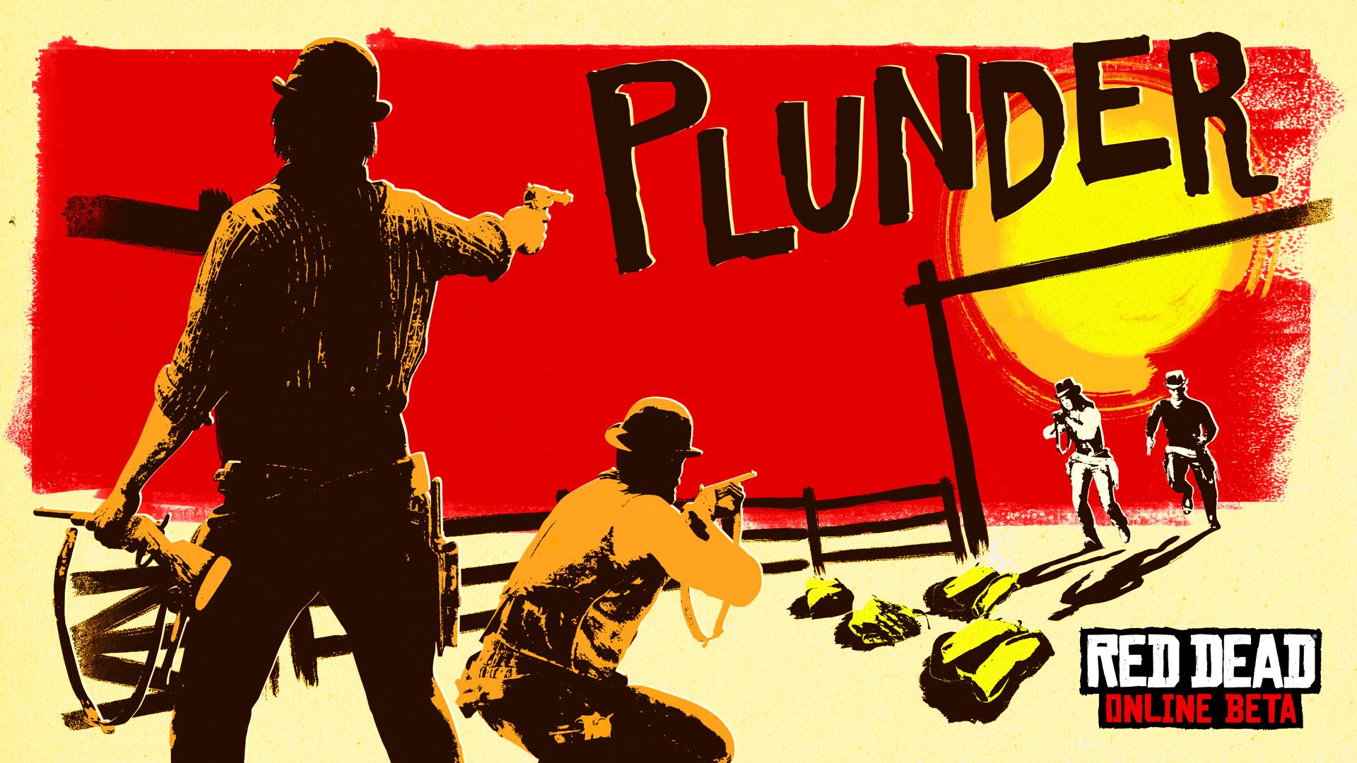 Red Dead Online Beta - Mode Confrontation Pillage