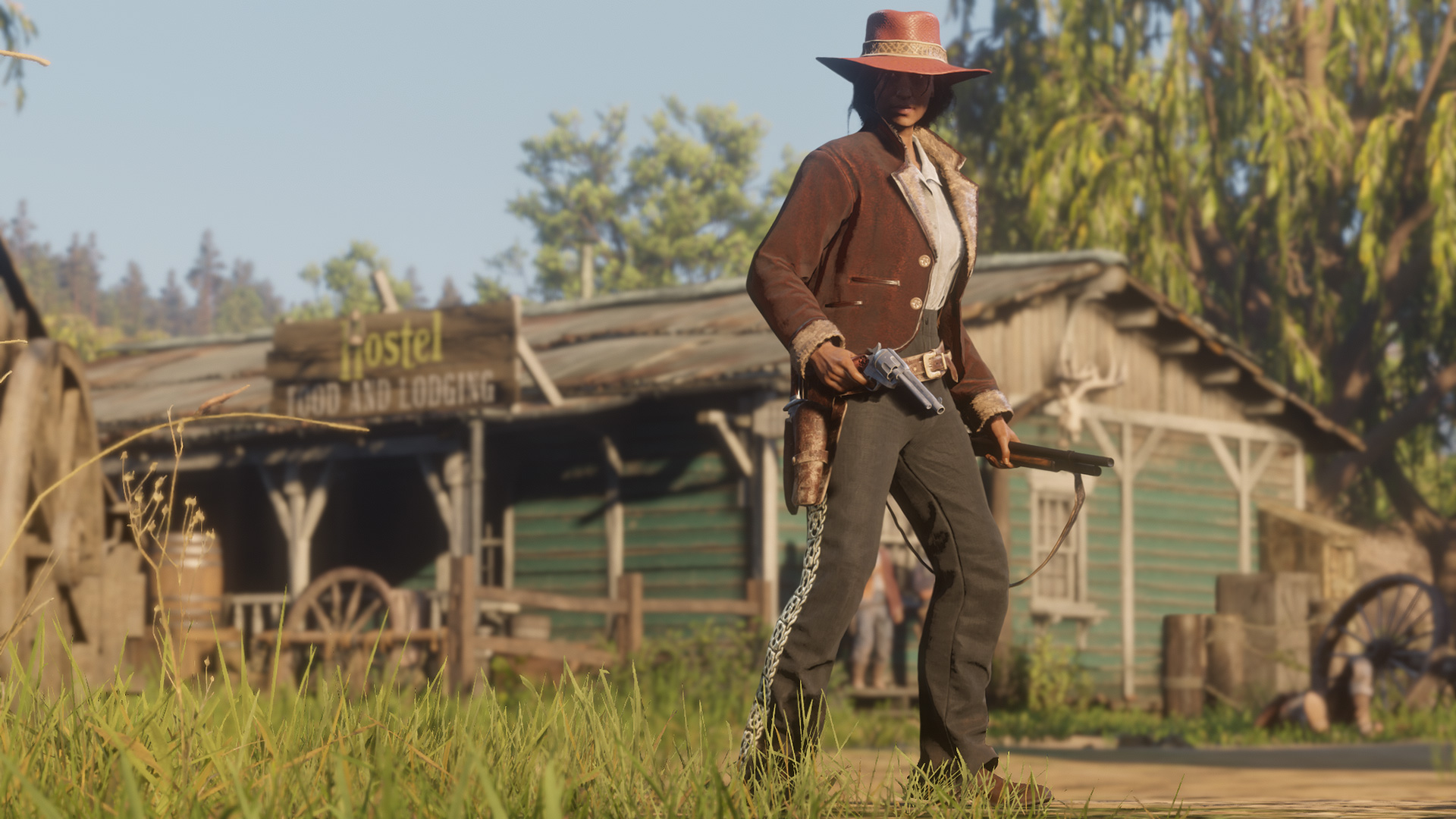 Red Dead Online - Tenue Semaine 9 Avril 2019