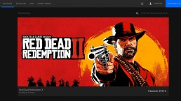 Red Dead Redemption II Epic Games Store annonce 22 Avril 2019