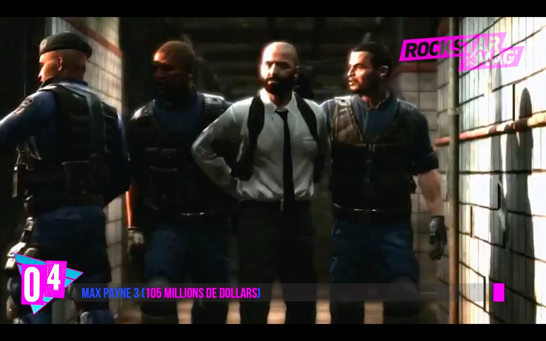 Top 5 Jeux les Plus Chers : 04 - Max Payne 3