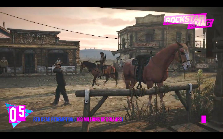 Top 5 Jeux les Plus Chers : 05 - Red Dead Redemption