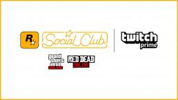 PArtenariat Twitch Prime Rockstar Games Social Club