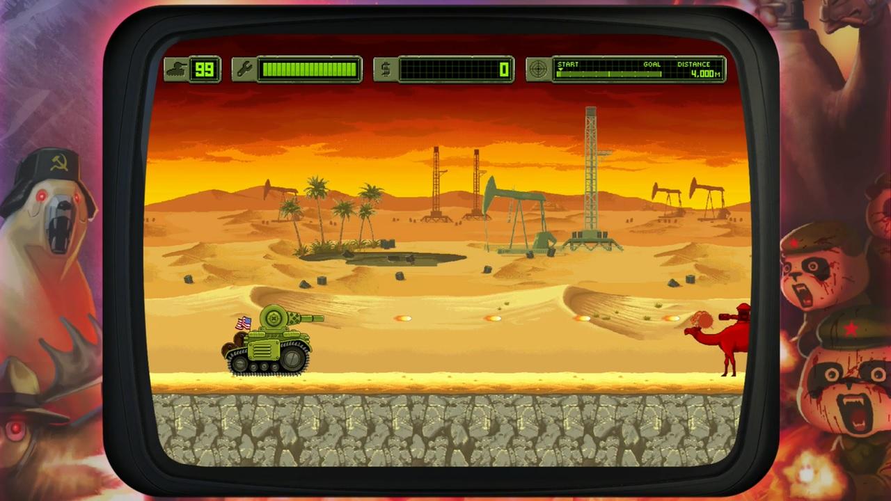 Invasion pacifique II 99 vies Konami