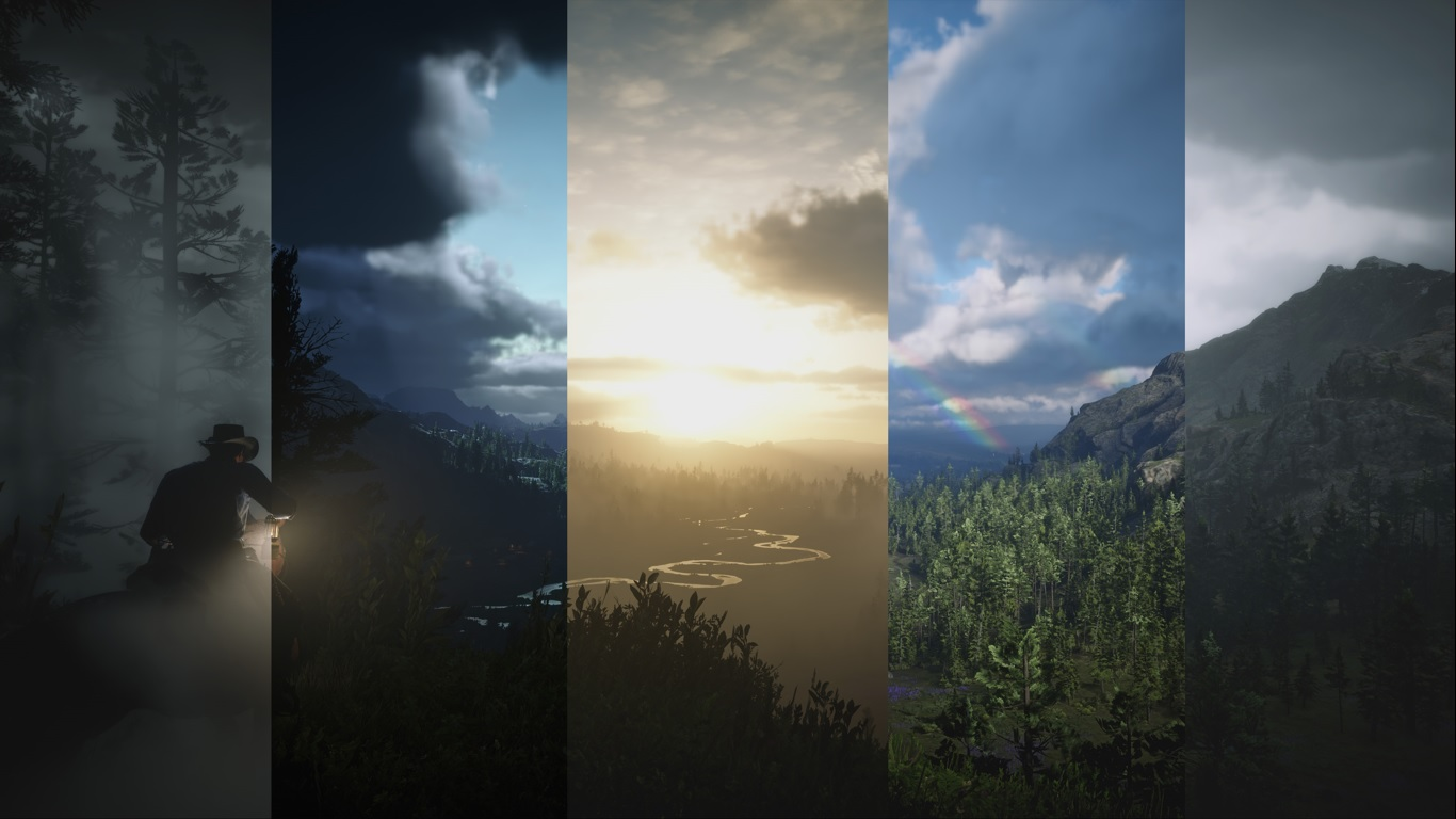 creating atmospheric world
