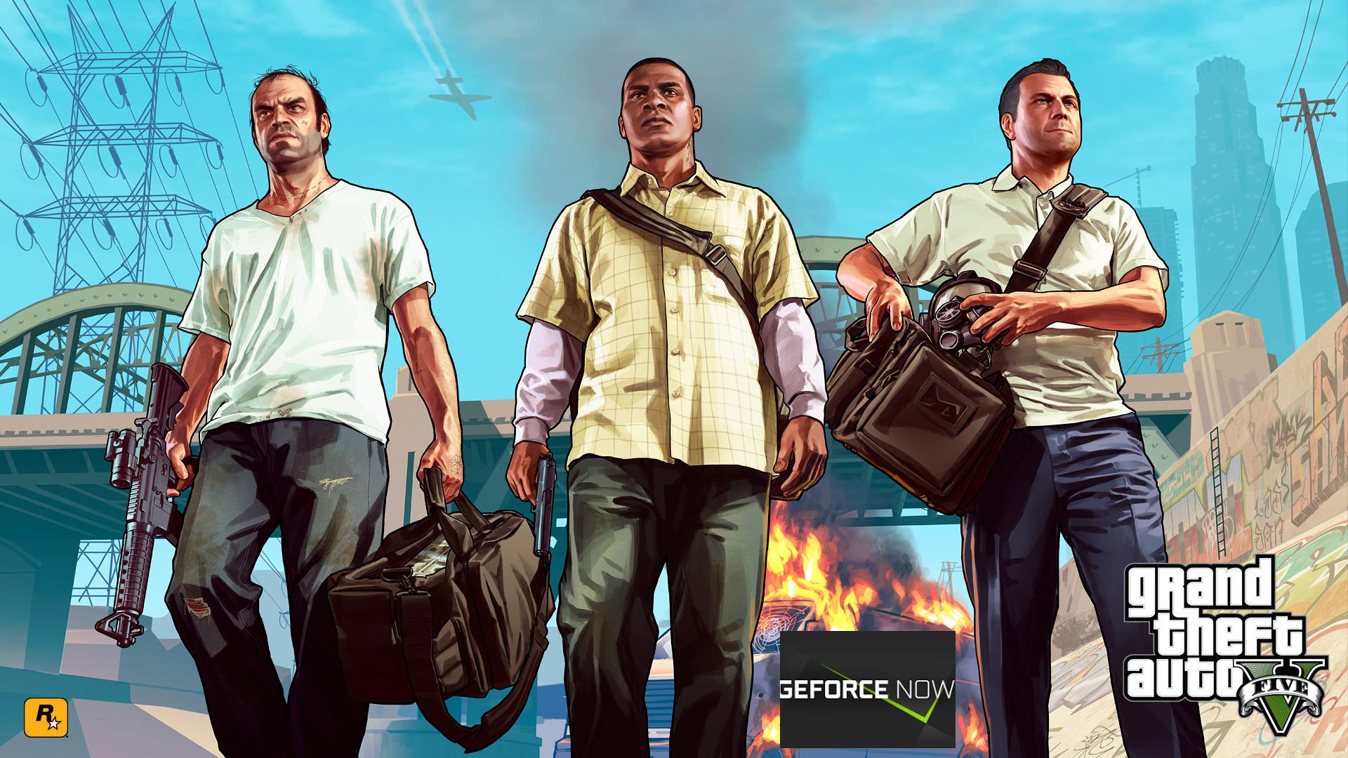 GTA V quitte le service GeForce de Nvidia