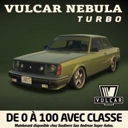 La Vulcar Nebula Turbo débarque dans GTA Online