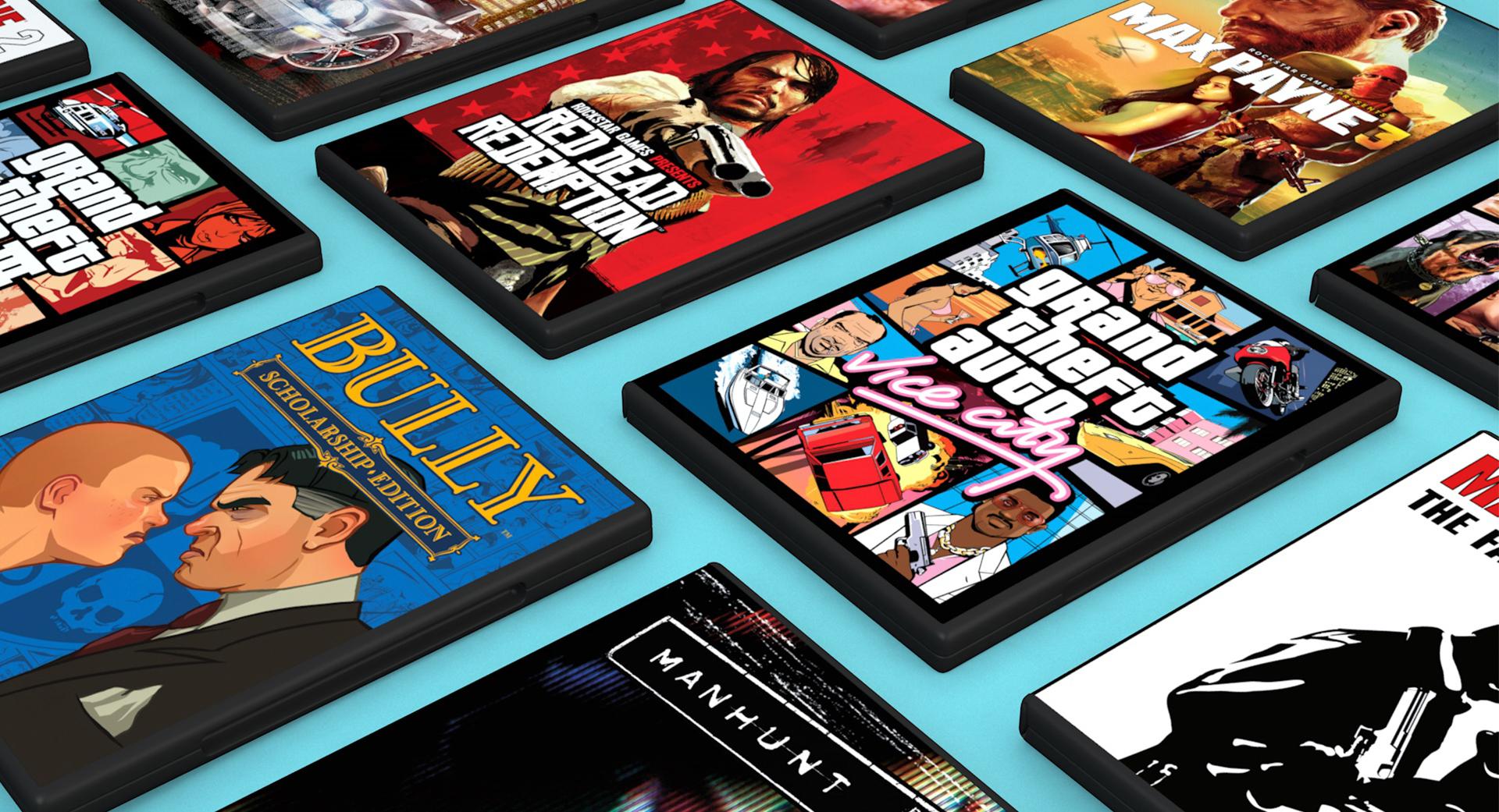 Anciens Jeux Rockstar soldés