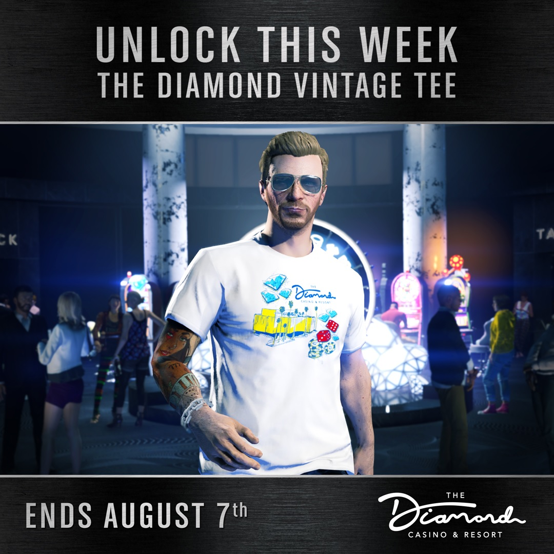t-shirt Diamond vintage