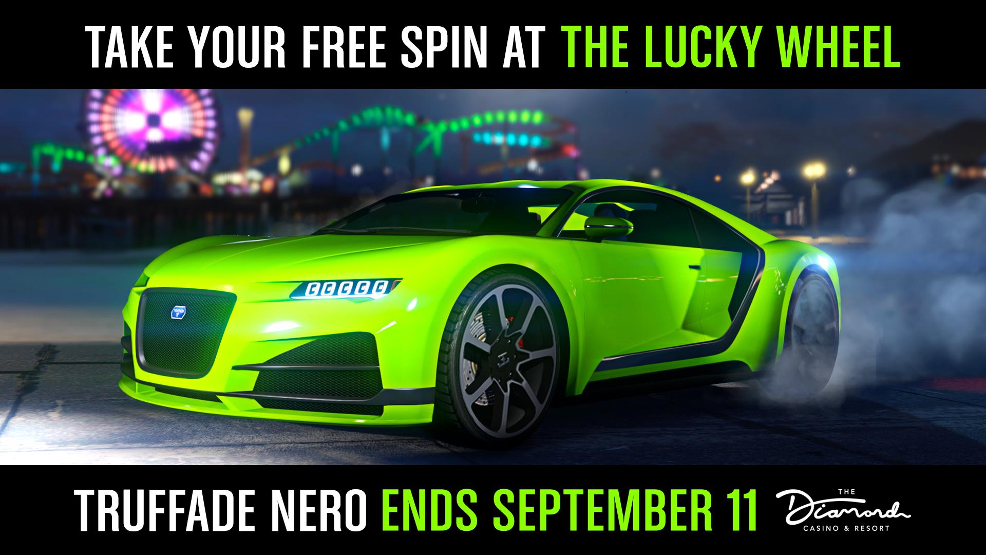 Nero Véhicule Premium Casino GTA Online