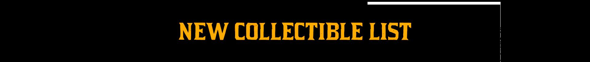 Red Dead Online Nouveaux Collectibles