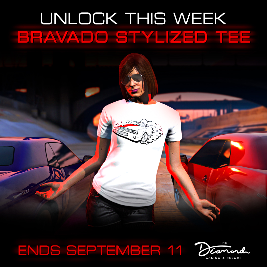 T-Shirt Bravado Exclusif GTA Online