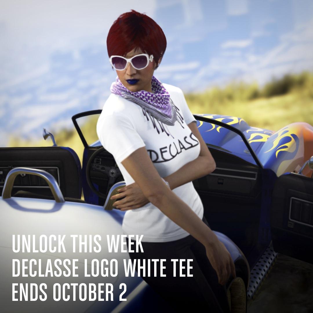 t-shirt declasse blanc