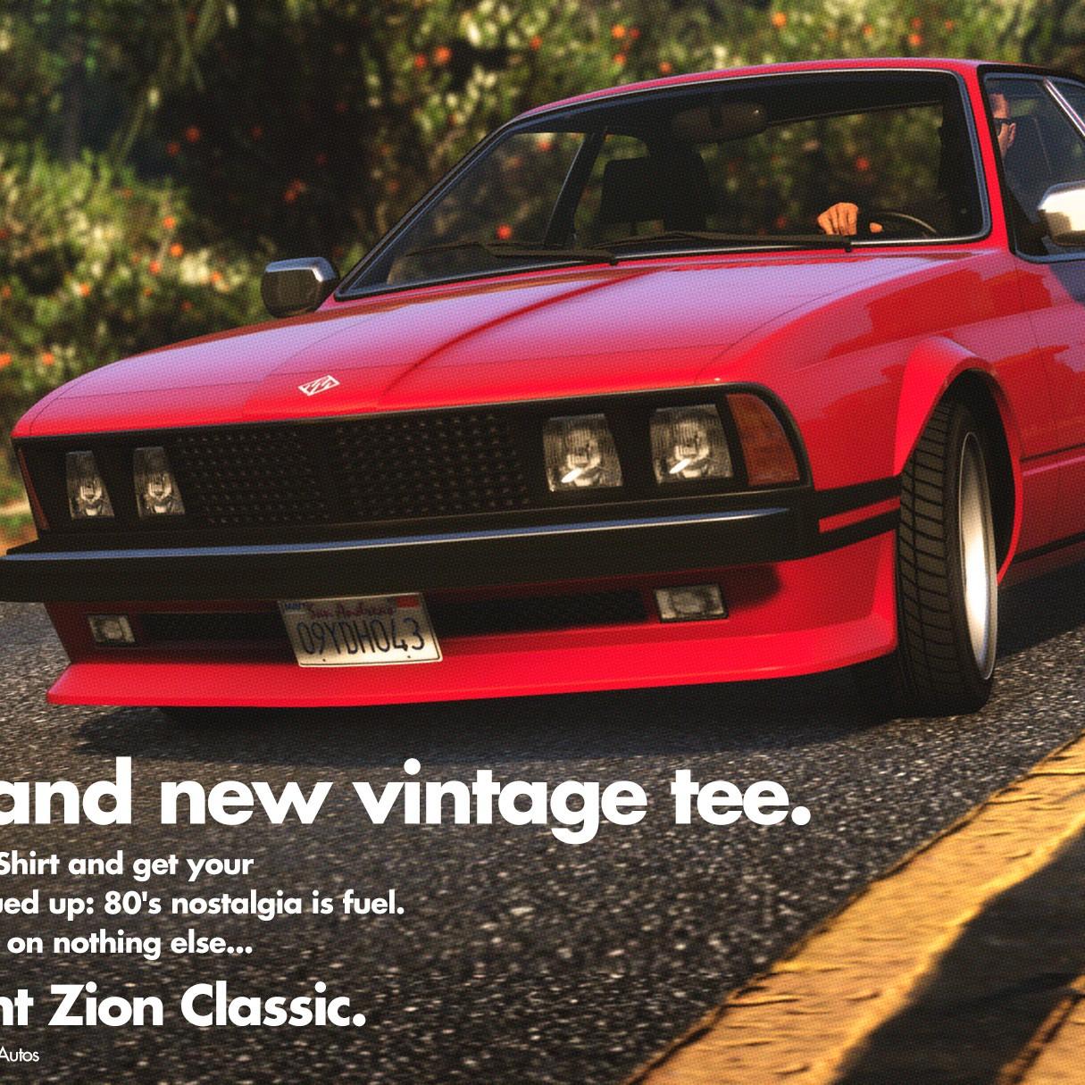GTA Online : La Übermacht Zion classique est maintenant disponible