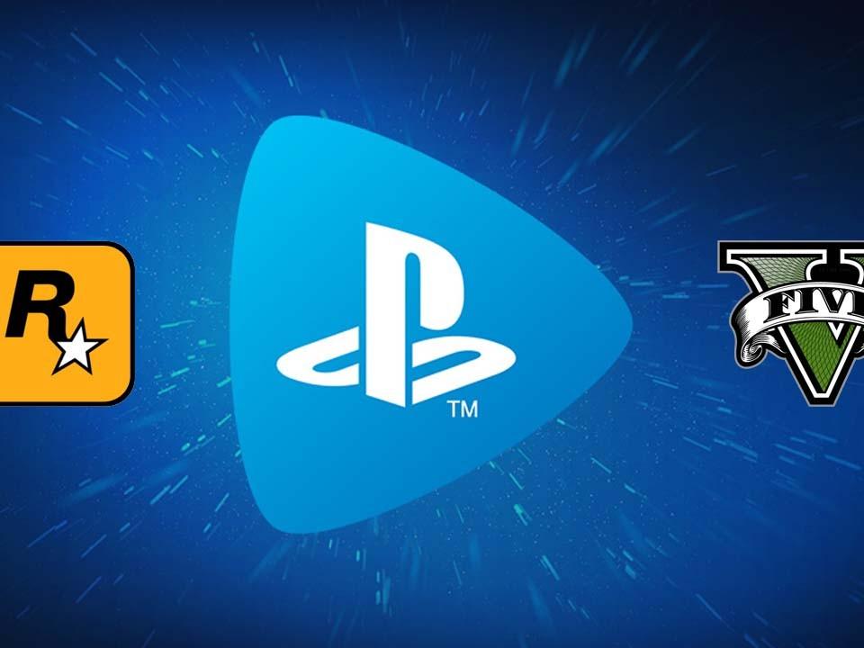 GTA V PlayStation Now