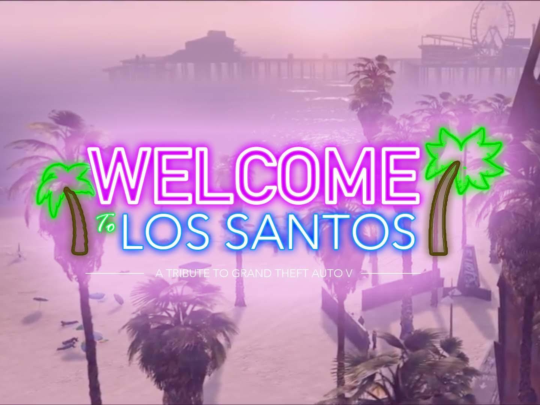 Welcome To Los Santos Rockstar Mag
