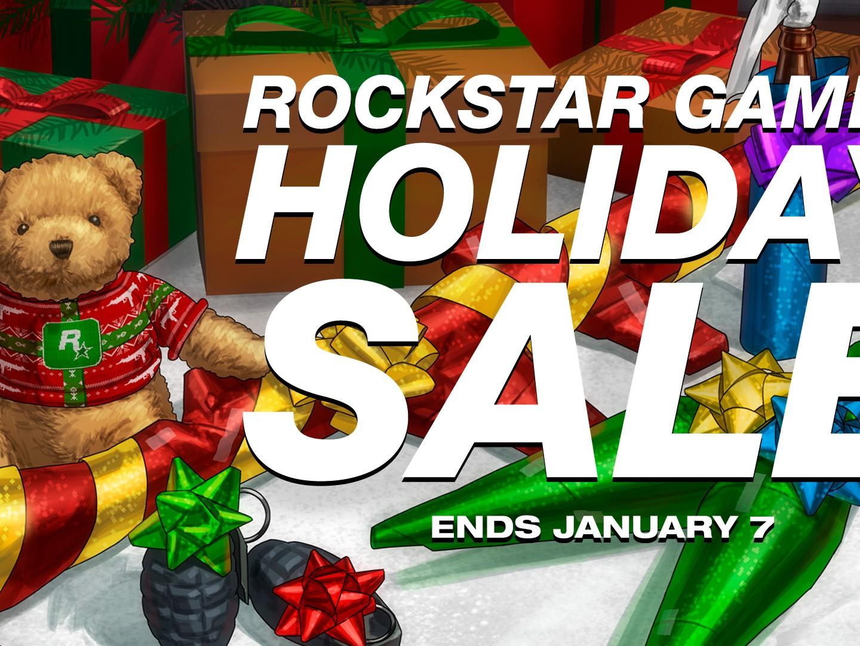 Offres Noël Rockstar Games Warehouse