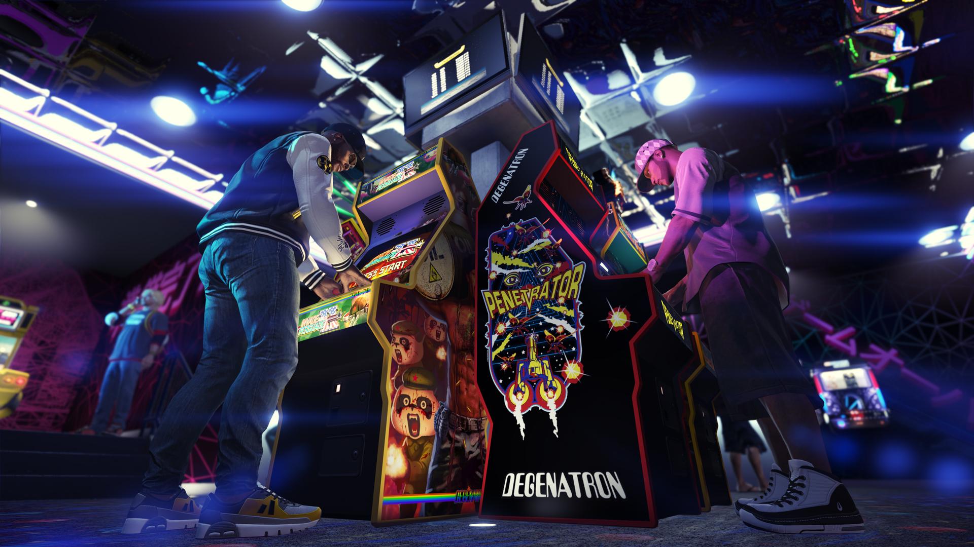GTA Online Borne d'Arcade