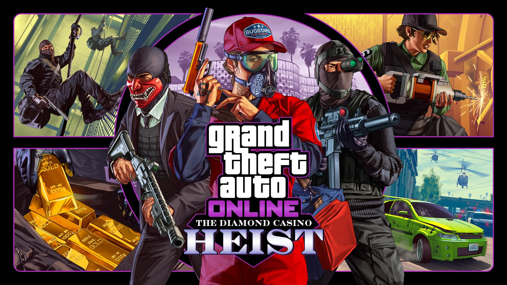 GTA Online Braquage Diamond Casino & Hôtel