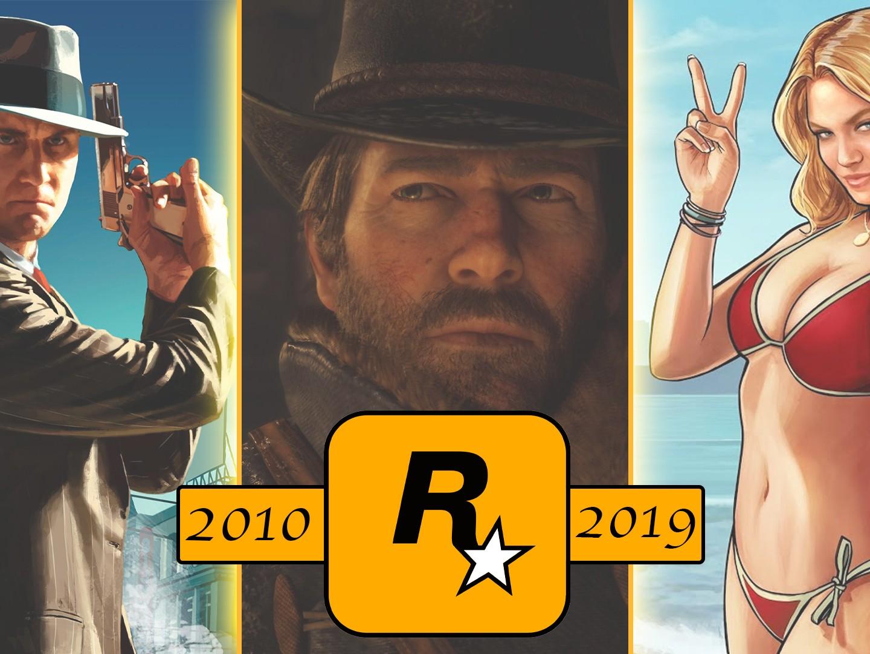 Jeux Rockstar Games 2010 - 2019
