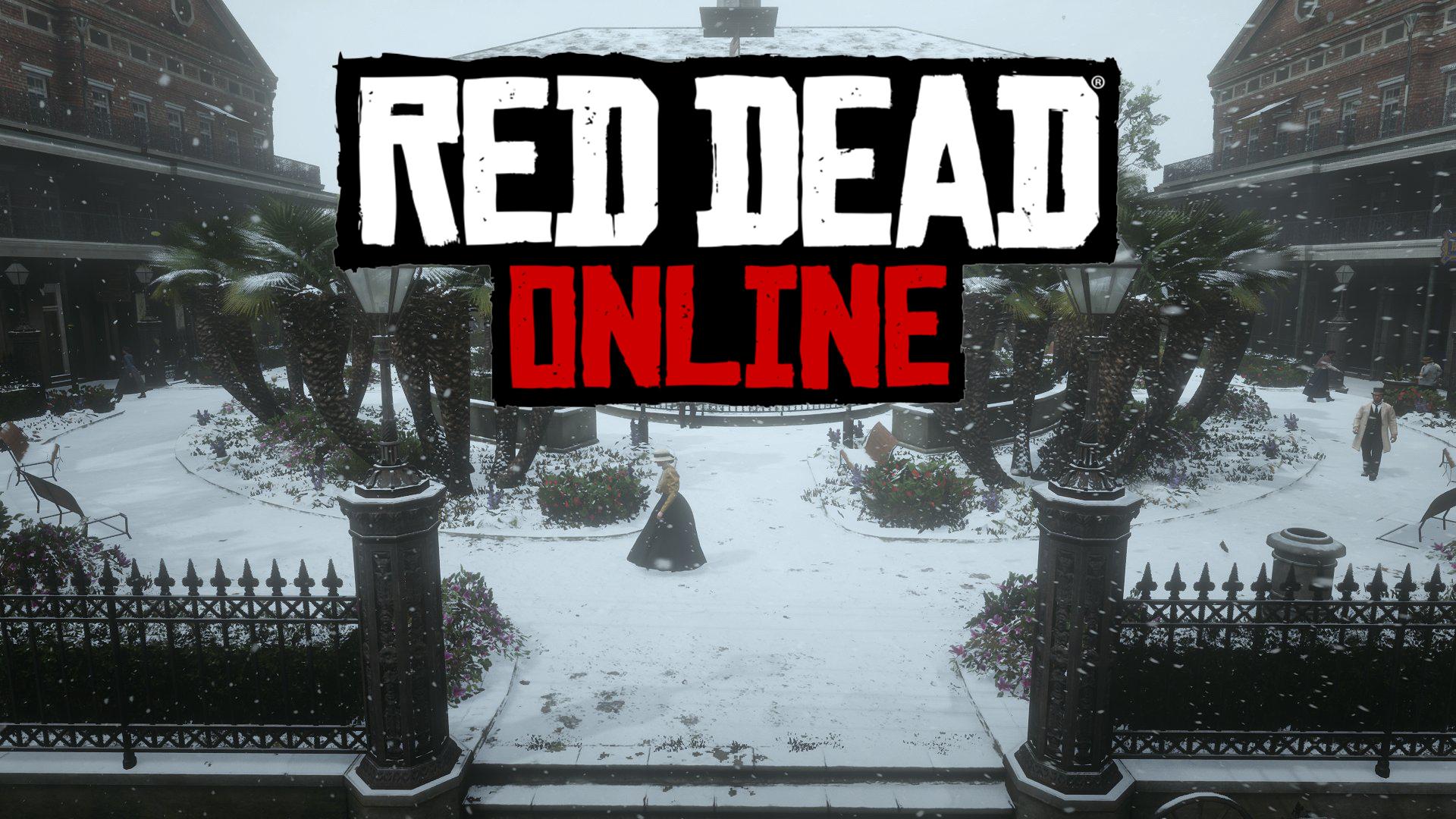 Red Dead Online Neige