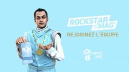 Rejoignez l'équipe Rockstar Mag
