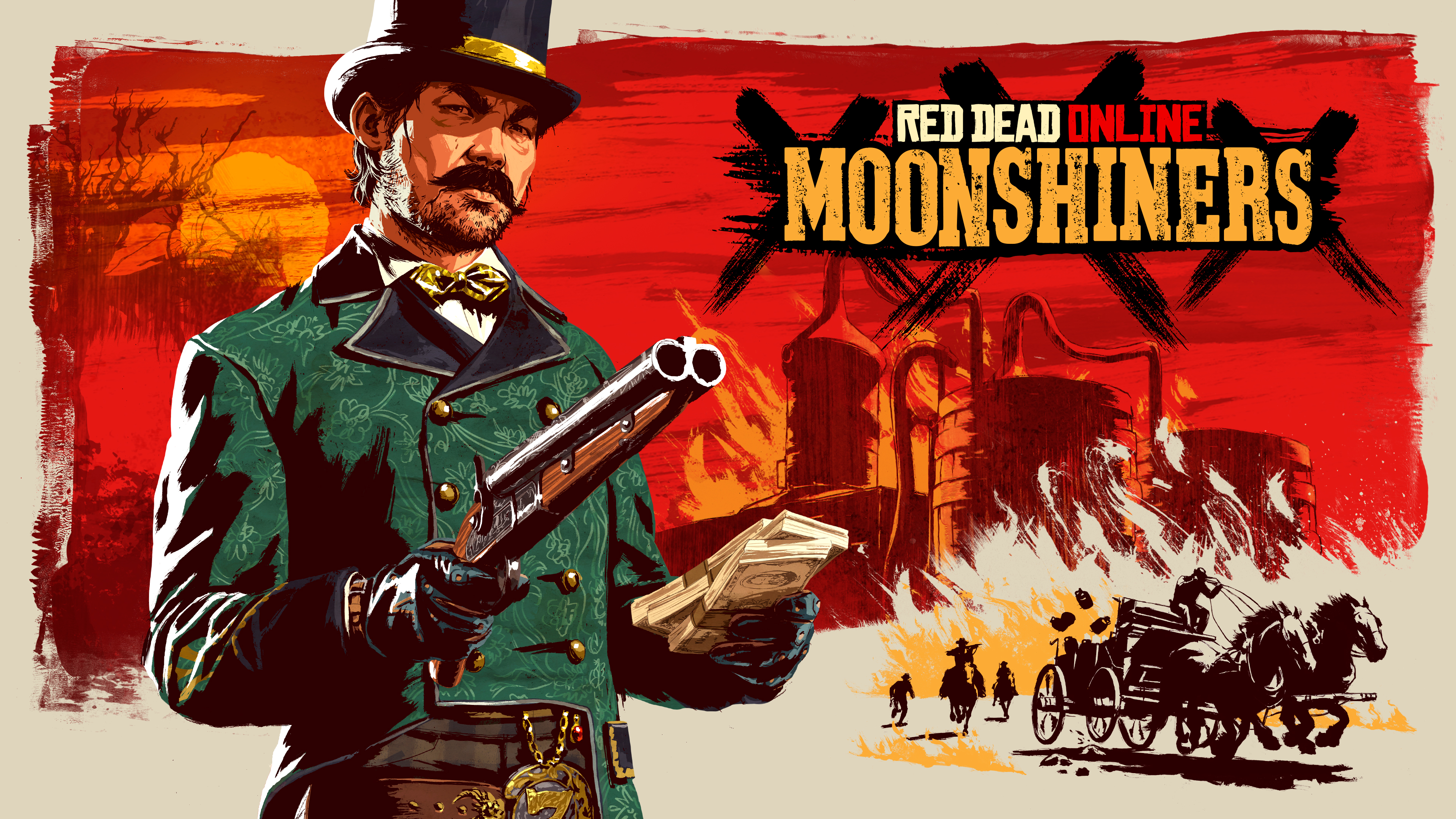 Rockstar Games Red Dead Online Moonshiners