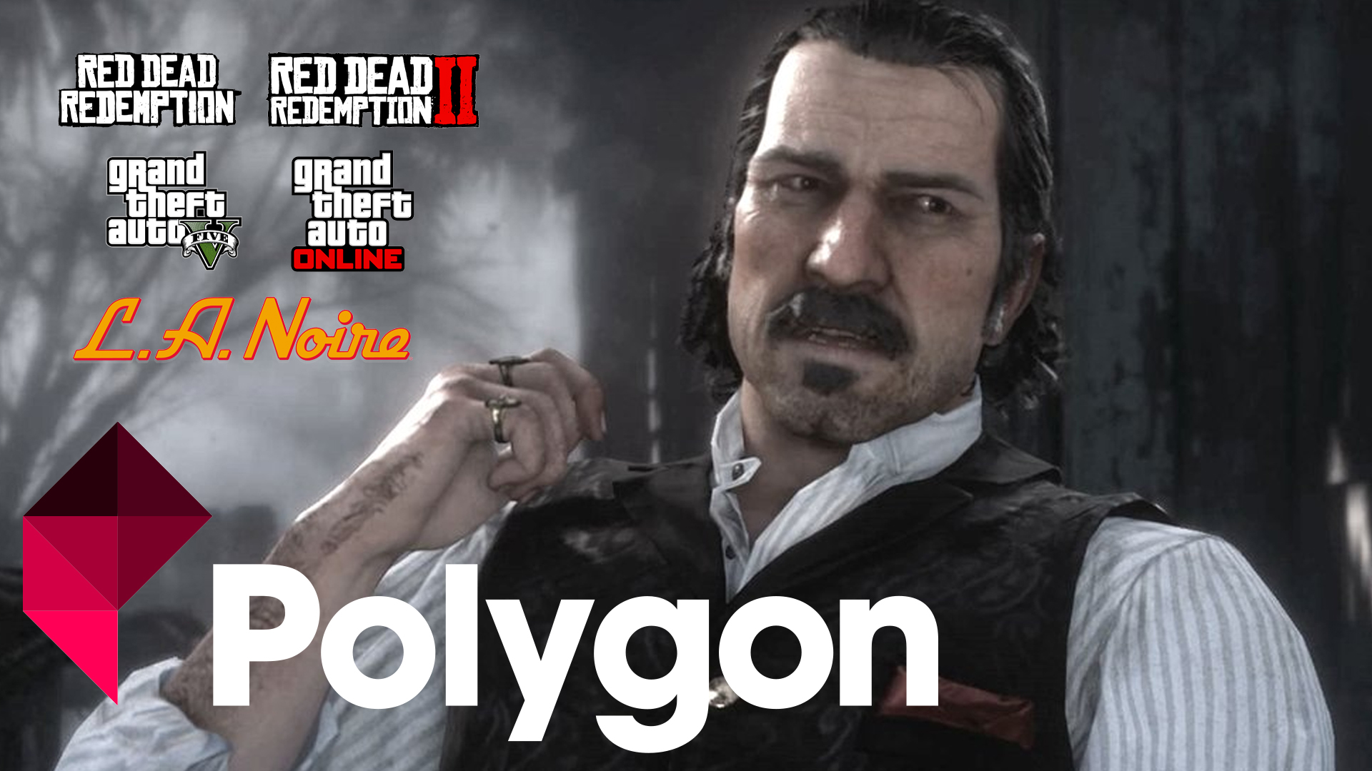 Top Personnages Rockstar Games Polygon