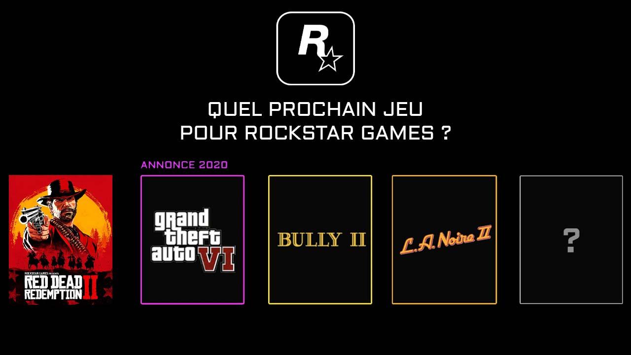 Quel Prochain Jeu Rockstar après Red Dead Redemption II