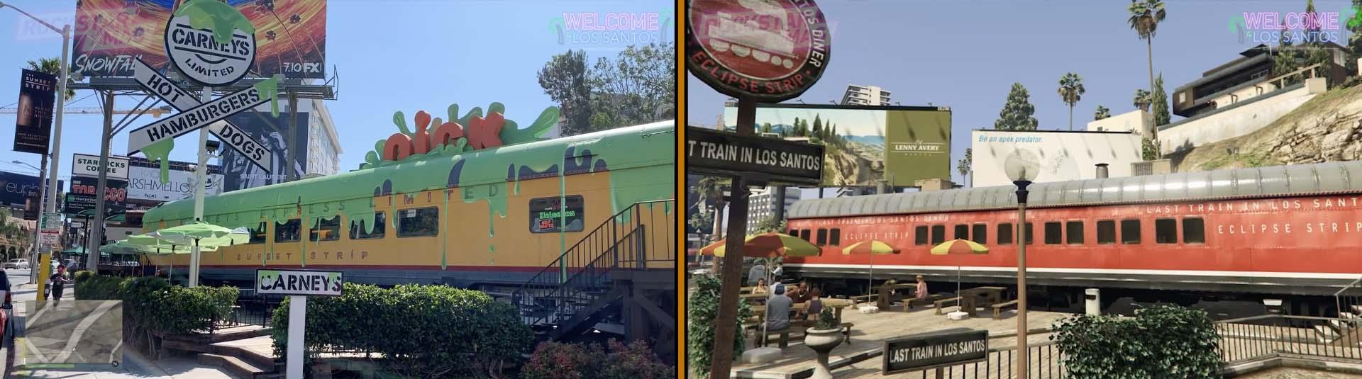 Vinewood 07 : Fast Food Train