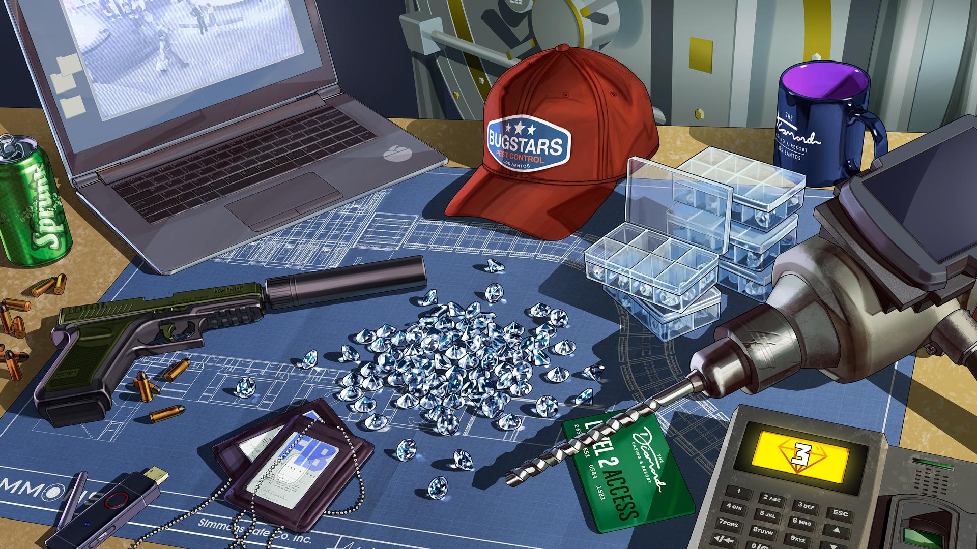 Braquage Diamants GTA Online
