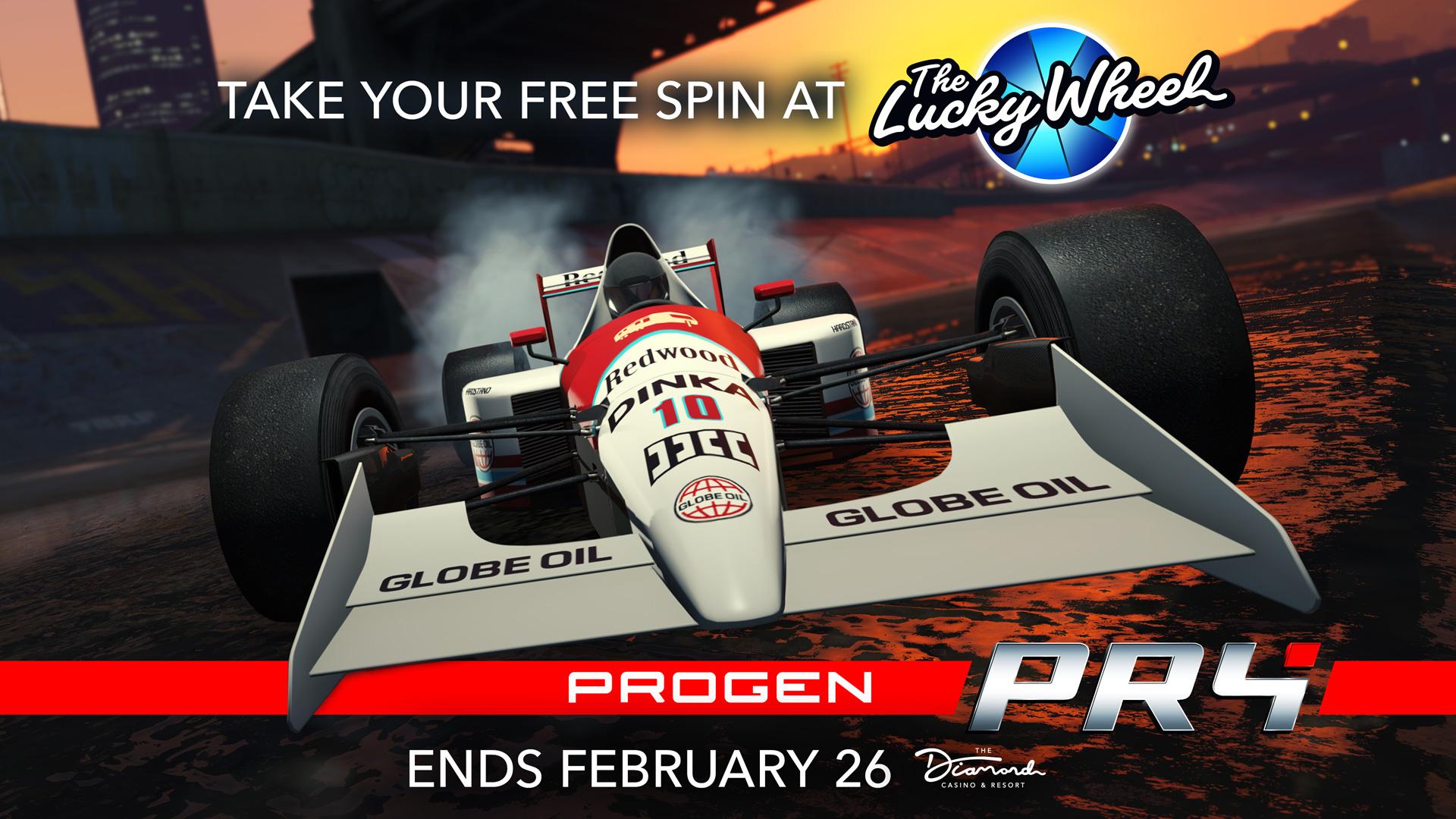Progen PR4 Podium