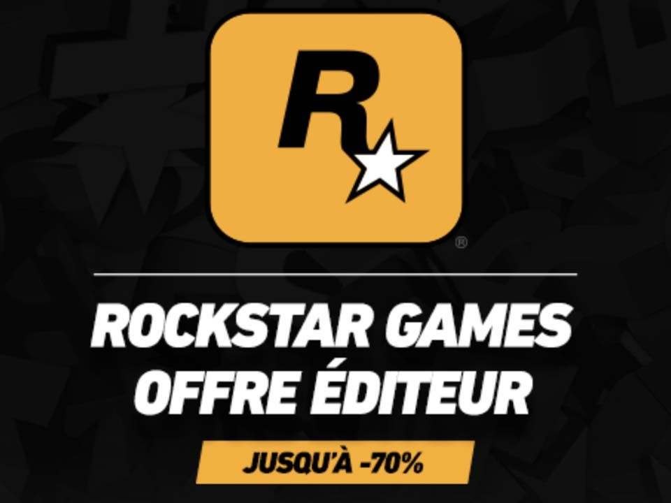 Promotions jeux Rockstar Games Steam