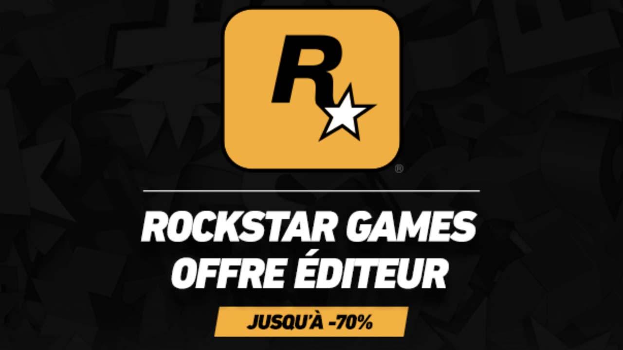 Promotions jeux Rockstar Games Steam