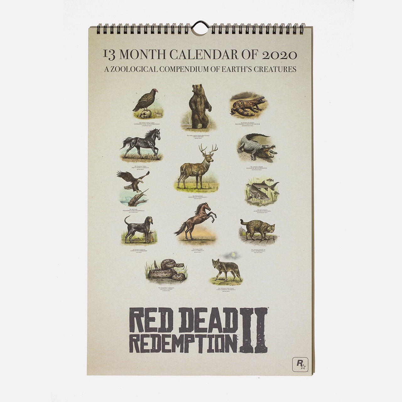 Calendrier RDR II